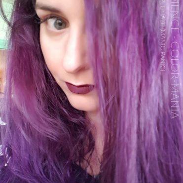 Merci Clemence ! Purple Haze Manic Panic Color-Mania