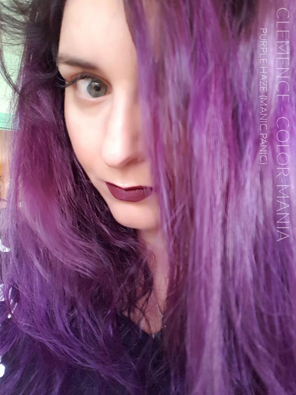 Violet Purple Haze Hair Coloring Manic Panic Color Mania