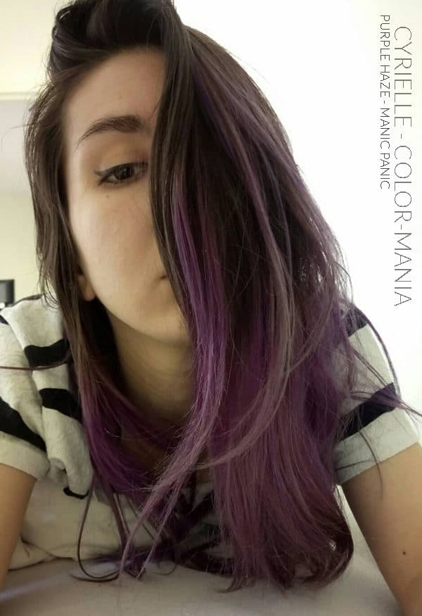 Grazie Cyrielle! :) - Purple Haze - Manic Panic - Color-Mania