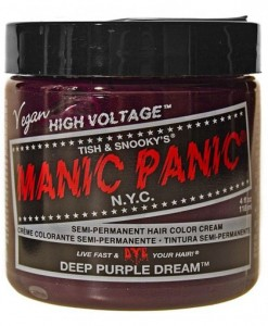 Coloration Cheveux Violet Deep Purple Dream - Manic Panic | Color-Mania