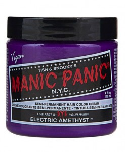 Coloration Cheveux Violet Electric Amethyst - Manic Panic   Color-Ma