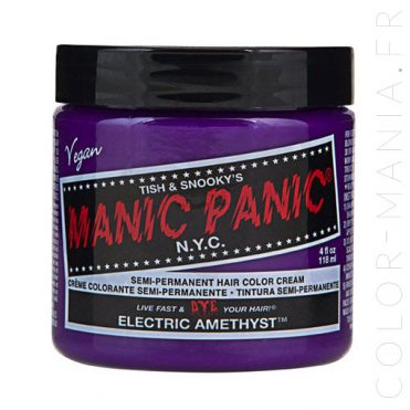Coloration Cheveux Violet Electric Amethyst - Manic Panic | Color-Ma