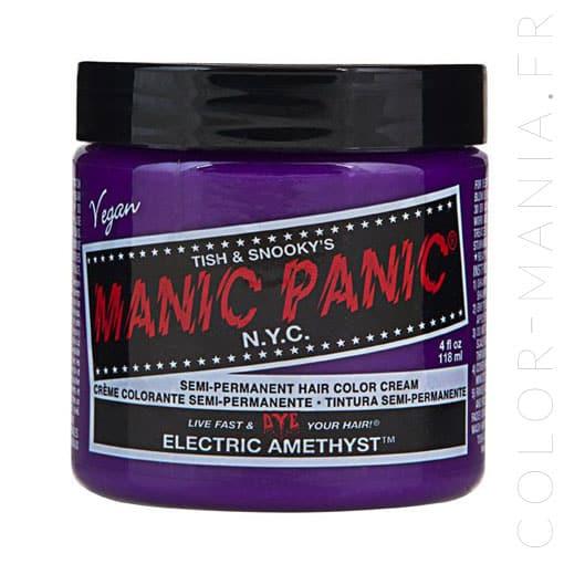 Amatista Violeta de Coloración Eléctrica del Cabello - Pánico Maníaco | Color-Mi