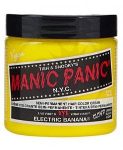 Coloration Cheveux Jaune Electric Banana - Manic Panic | Colo
