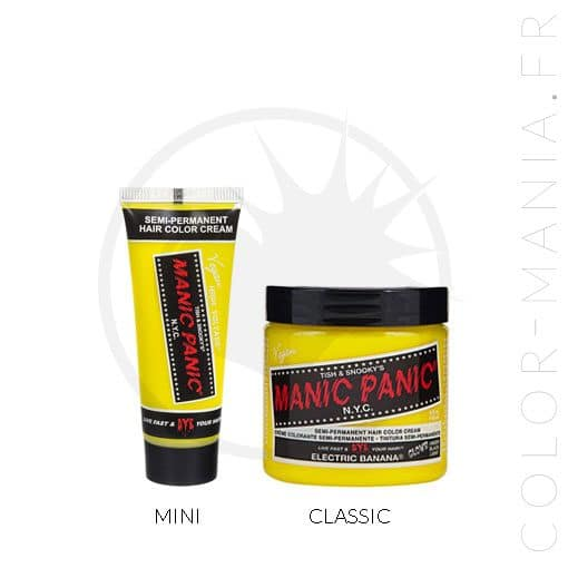 Coloration Cheveux Jaune Electric Banana UV - Manic Panic | Color-Mania