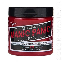 Coloration Cheveux Orange Lave Electrique - Manic Panic | Color-Mania