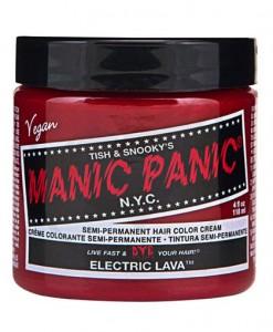 Coloration Cheveux Orange Lave Electrique - Manic Panic | Color-