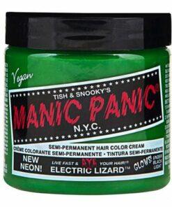 Coloration Cheveux Vert Electric Lizard UV - Manic Panic | Color-
