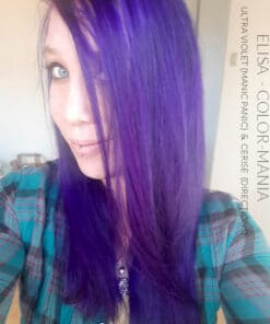 Merci Elisa :) Coloration Cheveux Ultra Violet - Manic Panic | Color-Mania