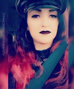 Merci Elodie :) Coloration Cheveux Rose Fuschia Shock - Manic Panic | Color-Mania