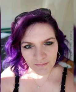 Merci Emilie :) Coloration Cheveux Violet Purple Haze - Manic Panic   Color-Mania