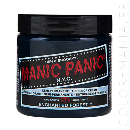 Coloration Cheveux Vert Enchanted Forest - Manic Panic | Col