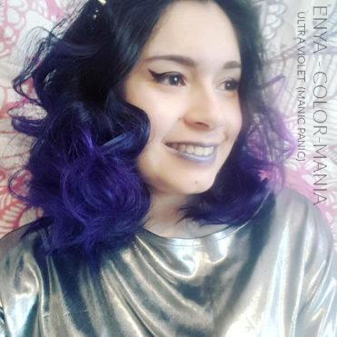 Merci Enya :) Coloration Cheveux Ultra Violet - Manic Panic | Color-Mania
