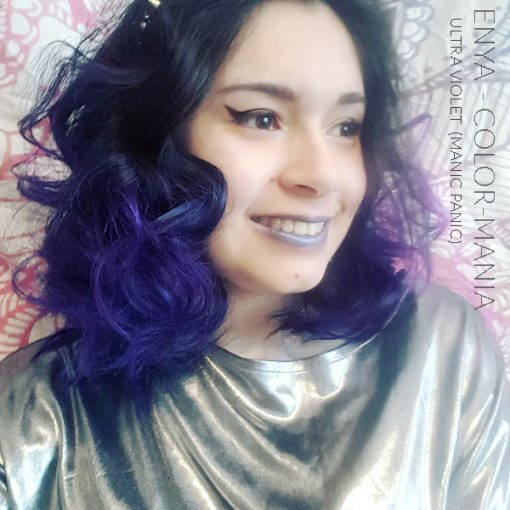 Gracias Enya :) Ultra Purple Hair Coloring - Manic Panic | Color-Mania