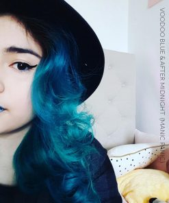 Merci Enya :) Coloration Cheveux Bleu After Midnight - Manic Panic | Color-Mania
