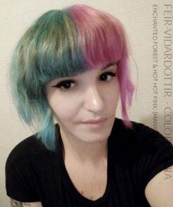 Merci Feïr-Viđardottir :) Coloration Cheveux Vert Enchanted Forest – Manic Panic - Dilué | Color-Mania