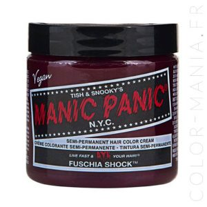 Coloration Cheveux Rose Fuchsia Shock - Manic Panic | Color-