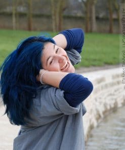 Merci Gabrielle :) Coloration Cheveux Bleu After Midnight - Manic Panic | Color-Mania
