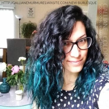 Merci Gallïane! :) - Coloration Cheveux VoodooBlue - Manic Panic