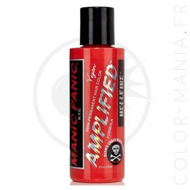 Coloration Cheveux Rouge Hellfire - Manic Panic | Color-Mania