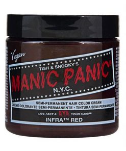 Coloration Cheveux Infra Rouge - Manic Panic | Color-Mania