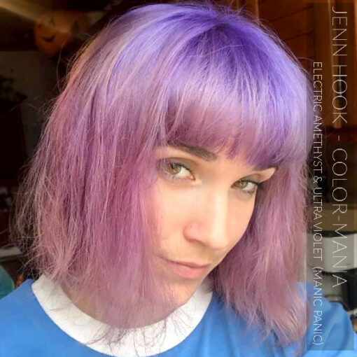 Merci Jenn Hook :) Coloration Cheveux Ultra Violet - Manic Panic | Color-Mania