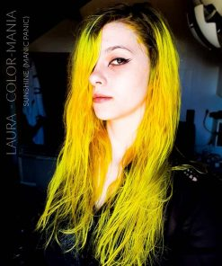 Gracias Laura :) Hair Color Yellow Sunshine - Manic Panic | Color-Mania
