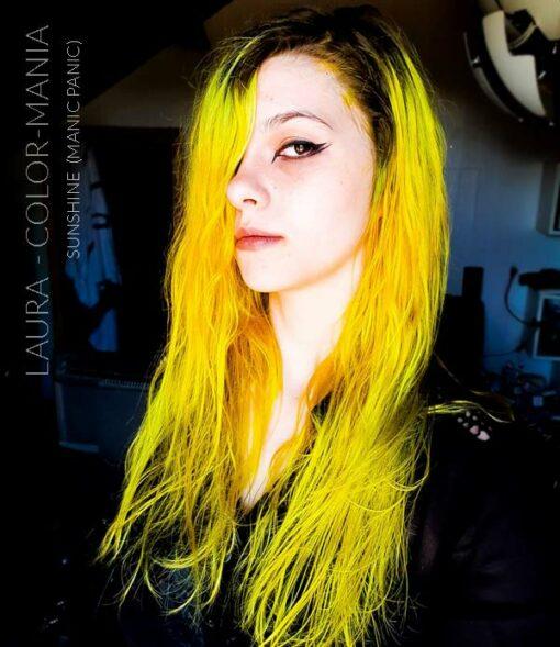 Gracias Laura :) Hair Color Yellow Sunshine - Manic Panic | Color-Mania