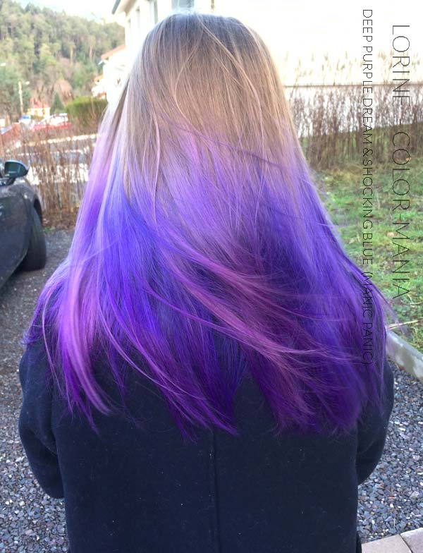 Merci Lorine :) Coloration Cheveux Violet Deep Purple Dream - Manic Panic | Color-Mania