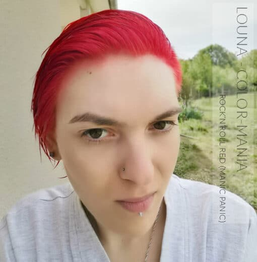 Merci Louna :) Coloration Cheveux Rouge Rock'n'Roll Red - Manic Panic | Color-Mania