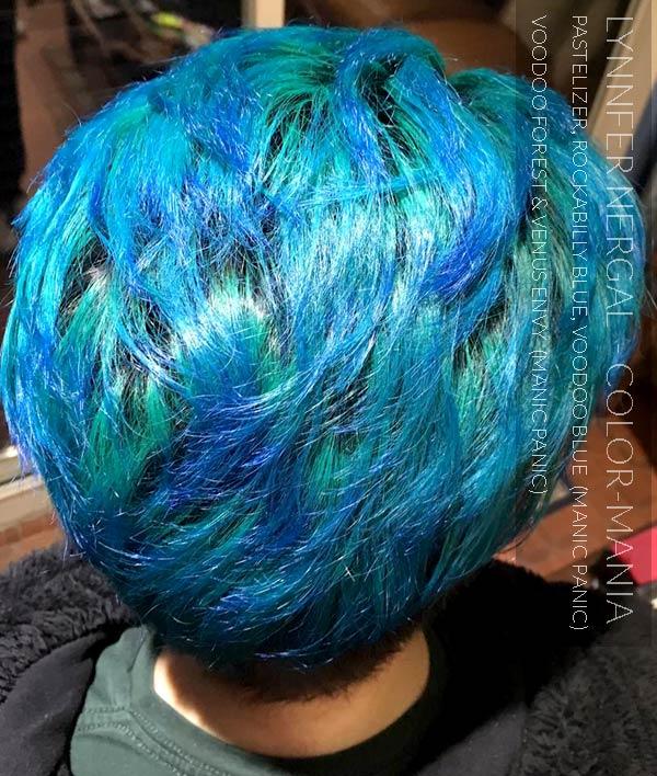 Grazie Lynnfer Nergal :) Pastel-izer Pastel Hair Colour Blend - Manic Panic | Color-Mania