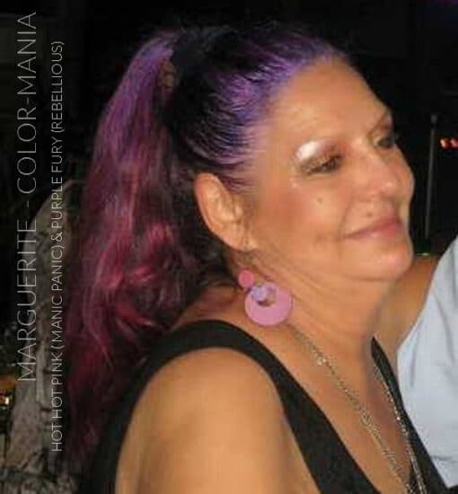 Merci Marguerite :) Coloration Cheveux Violet Purple Fury - Rebellious | Color-Mania