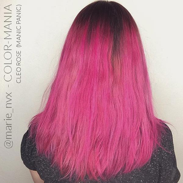 Merci @marie_nvx :) Coloration Cheveux Cleo Rose - Manic Panic | Color-Mania