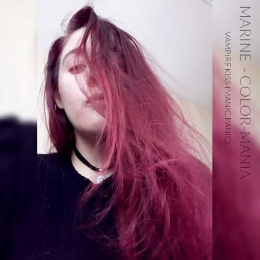 Merci Marine :) Coloration Cheveux Rouge Vampire's Kiss - Manic Panic | Color-Mania