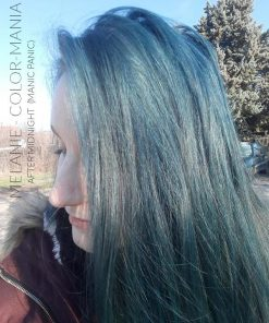 Merci Melanie :) Coloration Cheveux Bleu After Midnight - Manic Panic | Color-Mania
