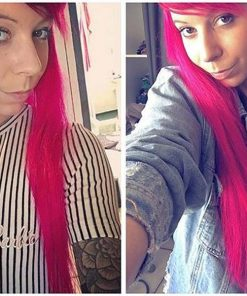 Merci Mily :) Coloration Cheveux Rose Hot Hot Pink UV - Manic Panic | Color-Mania