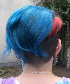 Merci Lynnfer Nergal :) Coloration Cheveux Atomic Turquoise (sur reste Atlantic Blue - Directions) - Manic Panic | Color-Mania