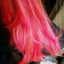 Merci Nina :) Coloration Cheveux Rose Cerise - Directions | Color-Mania