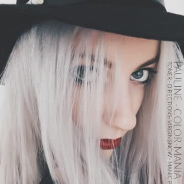Merci Pauline! :) - Coloration Cheveux Toner - Directions et Virgin Snow - Manic Panic