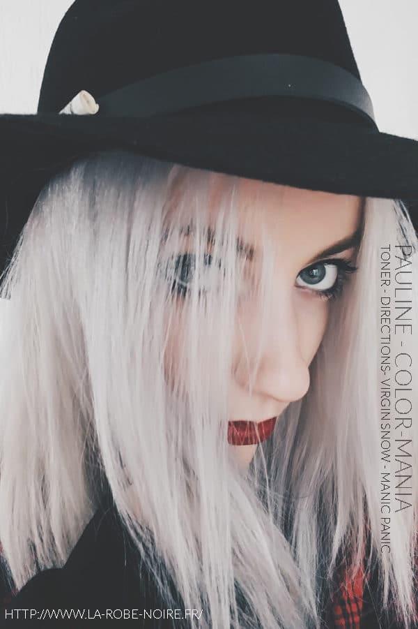 ¡Gracias, Pauline! :) - Tinta para colorear el cabello - Indicaciones y Virgin Snow - Manic Panic