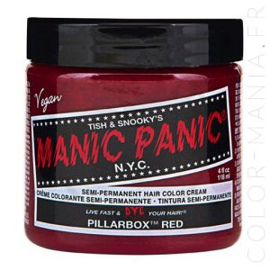 Coloration Cheveux Rouge Pillarbox - Manic Panic | Color-Mani