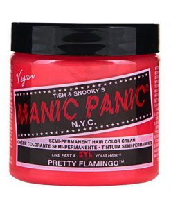 Coloration Cheveux Flamand Rose - Manic Panic | Color-Mania