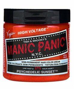Coloration Cheveux Orange Psychédélique - Manic Panic | Color-Mania