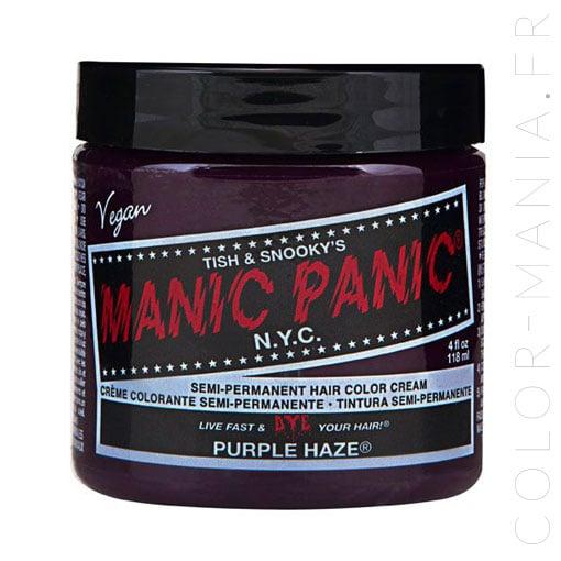 Violet Purple Haze Hair Coloring - Manic Panic | Color-Mania