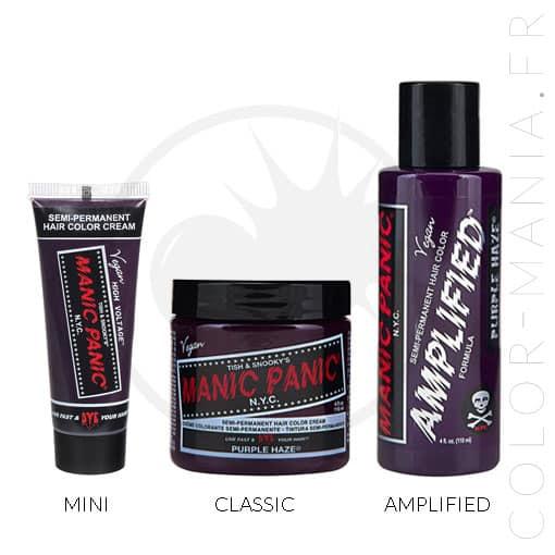 Coloration Cheveux Violet Purple Haze - Manic Panic | Color-Mania