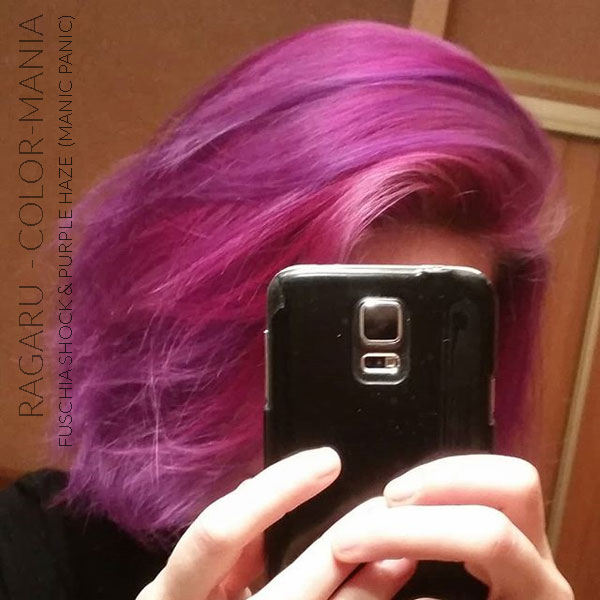 Merci Ragaru :) Coloration Cheveux Violet Purple Haze - Manic Panic | Color-Mania