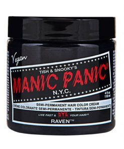 Color de cabello Deep Black - Manic Panic | Color-Mania