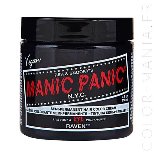Color de cabello Deep Black - Manic Panic | Color-Mania