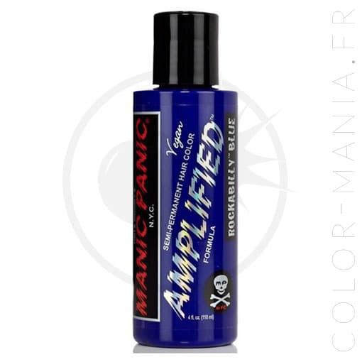 Coloration Cheveux Bleu Rockabilly - Manic Panic   Color-Mania