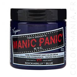 Coloration Cheveux Bleu Rockabilly - Manic Panic | Color-Mania